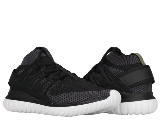 new arrival 48e24 ed2d6 Adidas Tubular Nova PK Primeknit Black/White Men's Running Shoes S74917