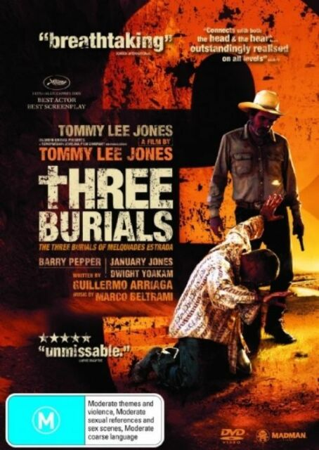 Three Burials Of Melquiades Estrada (DVD, 2006) B10-fb18 _ LIKE NEW !