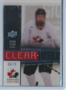 2014-Upper-Deck-Clear-Cut-Team-Canada-Playing-for-A-Nation-13-Haydn-Fleury-75