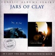 JARS OF CLAY - If I Left the Zoo / The Eleventh Hour (Christian Rock) 2 CD