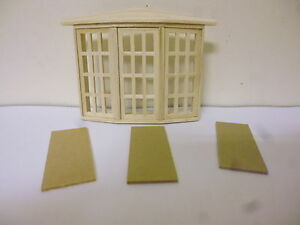 Quality 1 24th Scale Dolls House Diy Bay Window 9018b Ebay