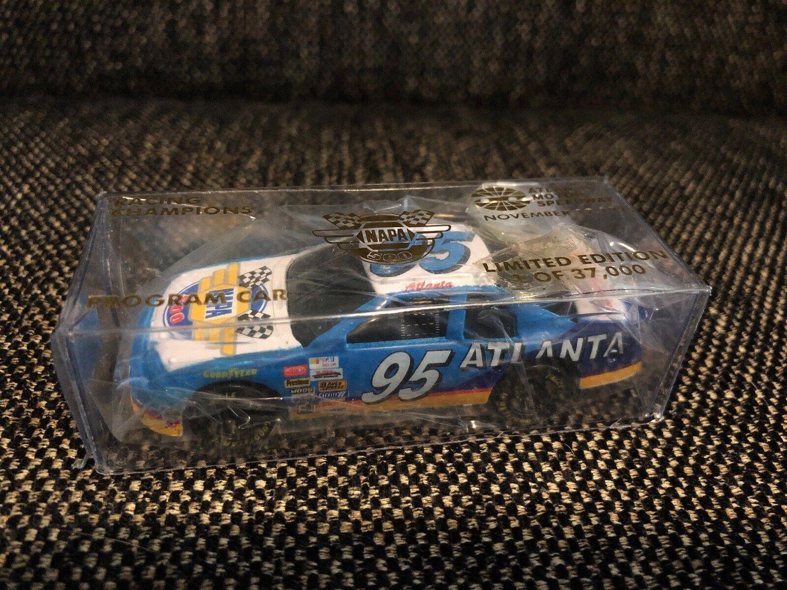 NAPA Racing Champion Program Car 1 64 Dicast Altanta Speedway 11-12-1995 1 37000