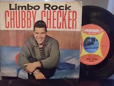 CHUBBY CHECKER ON PARKWAY RECORDS W/ PICTURE SLEEVE LIMBO ROCK / POPEYE