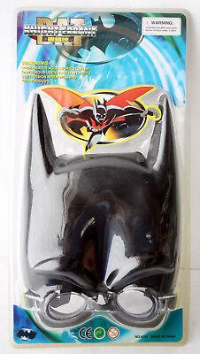 RARE VINTAGE 90'S BATMAN SWIMMING MASK GOGGLES SNORKEL NEW SEALED !