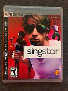 SingStar (Sony PlayStation 3, 2008)