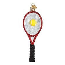 Tennis Ball Ornament Glass Old World Christmas 44013  6