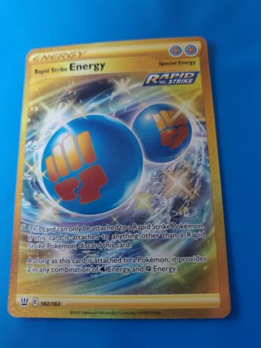 Rapid Strike Energy. Excellentcondition. One time owner, Never been played.