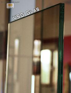bronze get nte vsg sicherheitsglas glasplatte 8mm 0 38 folie get nt glasscheiben ebay. Black Bedroom Furniture Sets. Home Design Ideas