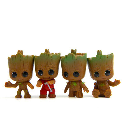 """New Guardians of the Galaxy Vol.2 Baby Groot 3/"""" Key Chain Small Pendant Gift FR"""