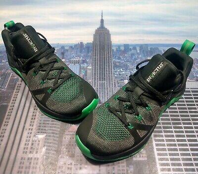 palo Apretar compensar  Nike Metcon Flyknit 3 Invictus Negro/Blanco-Suerte Verde Para Hombre Talla  8 CD0305 003   eBay