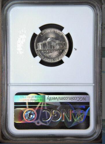 1987-D 5C Jefferson Nickel 5C NGC Gem Unicrculated MS66 5FS