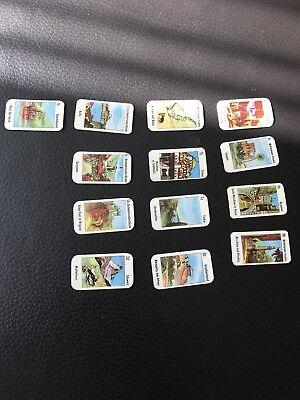13 Mini Sammel Spielkarten - Gizeh Zigarettenpapier- Original 50er, Rarität