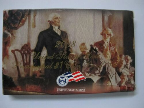 ORIGINAL OWNER OUT OF A SEALED MINT BOX 2008 4 COIN PRESIDENTIAL $1 PROOF SET
