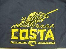 New Authentic Costa Del Mar, Pez Vela, Blue Dusk, S/S T-Shirt Size Large