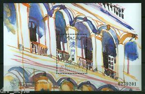 Verandas souvenir sheet mnh 1997 Macau #892