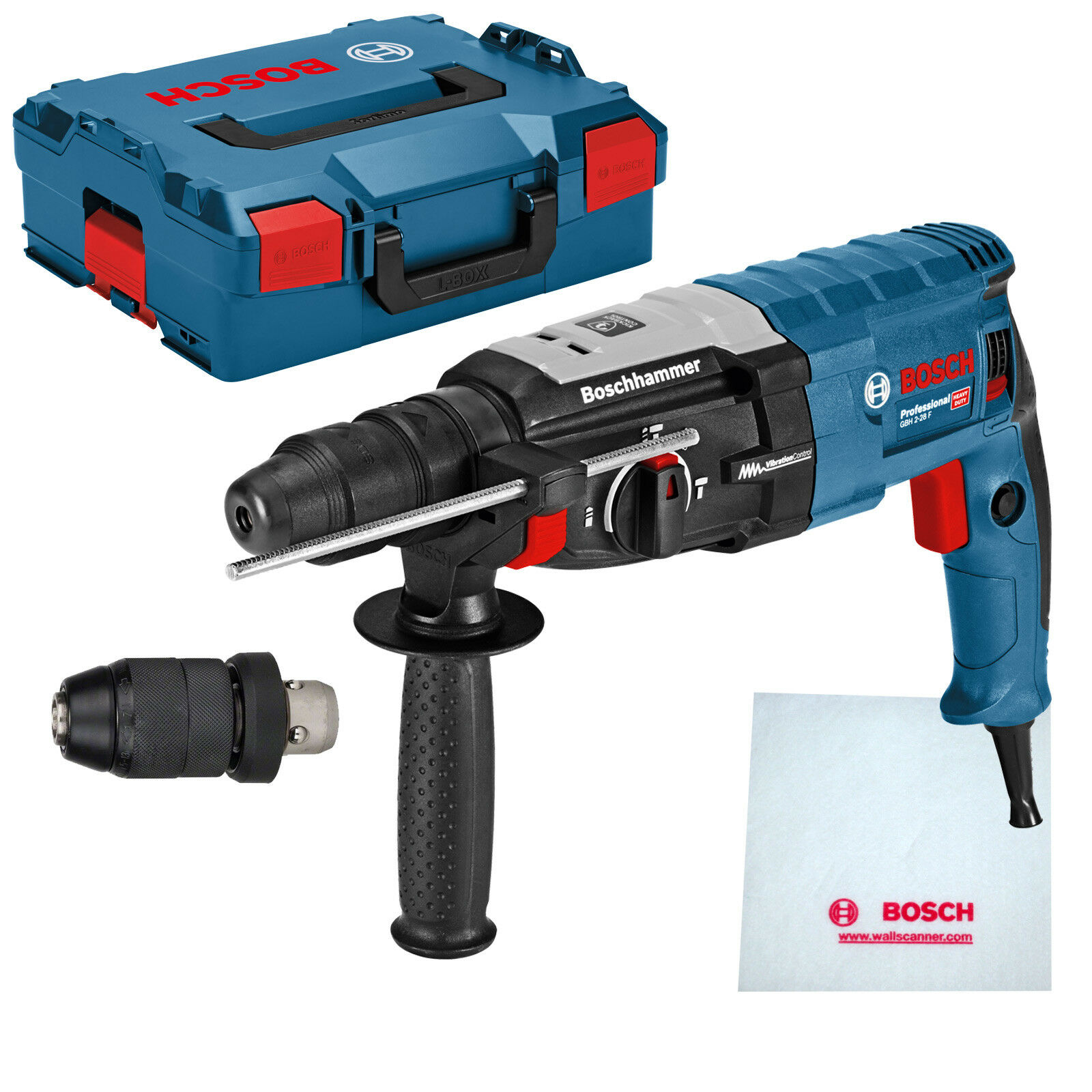 Bosch Bohrhammer GBH 2-28 F Professional SDS-plus in L-BOXX