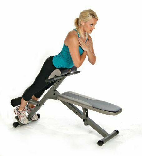Stamina Hyper Bench Pro Ab Strength Training Exercise Adjustable Fitness Gym For Sale Online Ebay