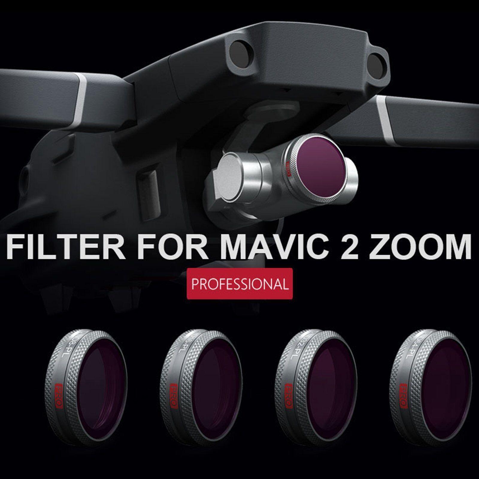 Pgytech HD pl-nd8/16/32/64 CPL Lens Filtro per DJI Mavic 2 Pro/Zoom PROFESSION