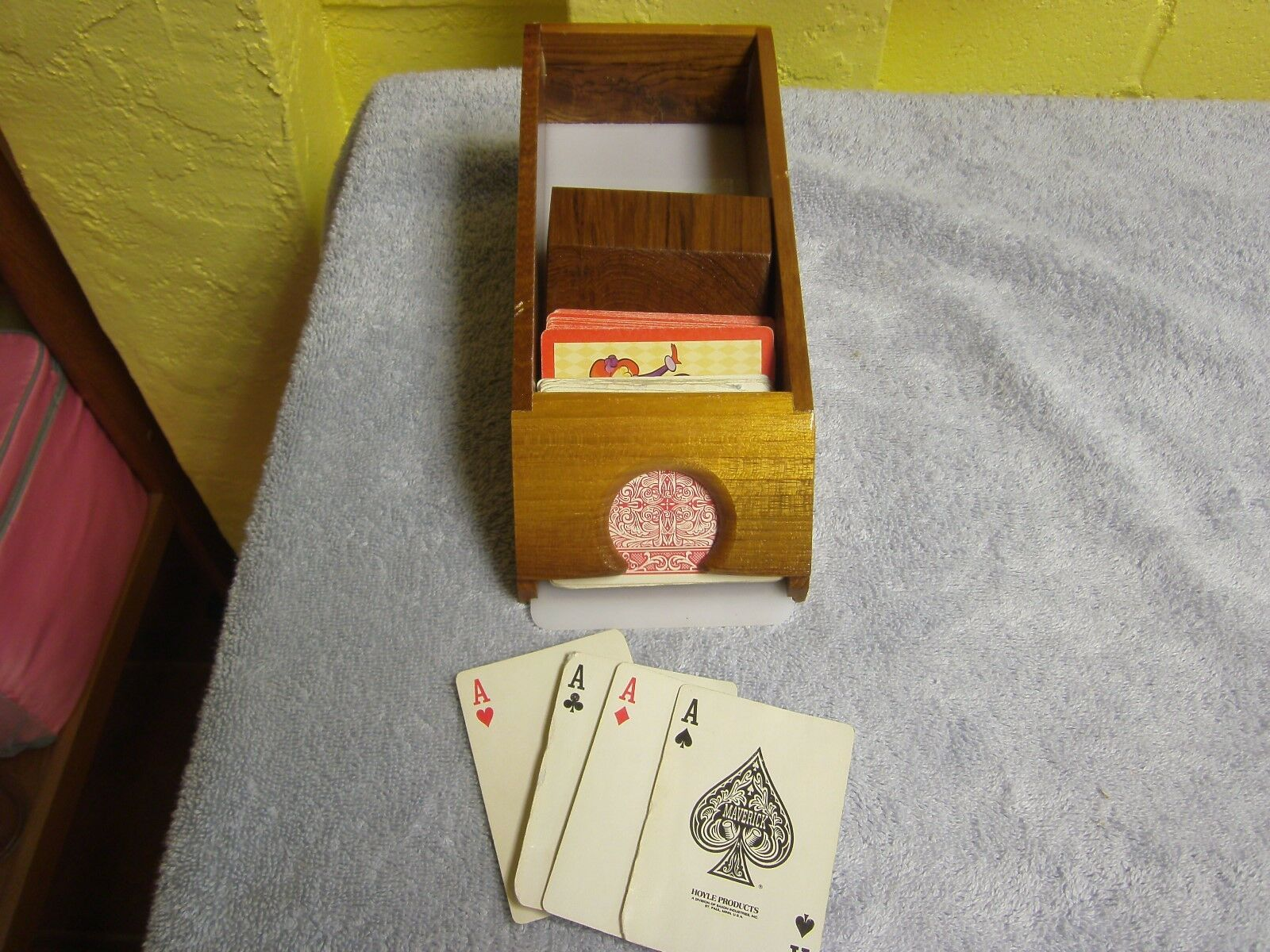 Vintage Allan Troy Chess Set--DEALER'S SHOE