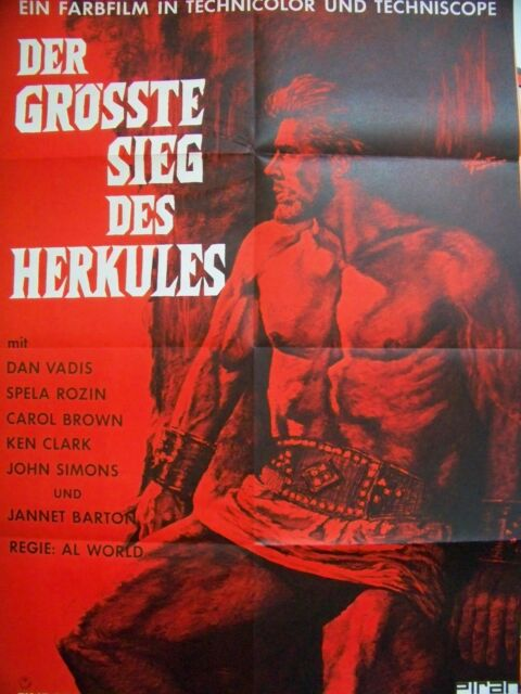 DAN VADIS + GRÖSSTE SIEG DES HERKULES + KEN CLARK +