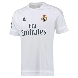 huge discount da387 55b83 Details about ADIDAS REAL MADRID YOUTH HOME JERSEY 2015/16