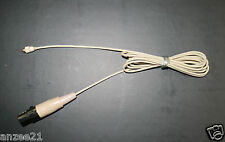 Detachable Cable Plug with Mini 3Pin AKG Samson Connector