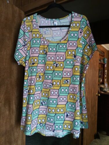 NWOT Details about  /LuLaRoe Mickey Mouse Classic-T Size 2XL