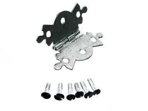 Packung-Von-96-X-Schmetterling-Ornate-Dekorativ-Schmuckkaestchen-Scharniere-50Mm