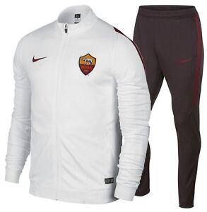 Imperativo Precioso Mexico  3312 As Roma Nike Chándal Selección Polialgodón Tracksuit Canadiense 688090  100 | eBay
