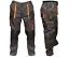 Da-Uomo-Multi-Tasca-Cargo-Heavy-Duty-ginocchio-Pad-triple-cuciture-Pantaloni-Top-Quality miniatura 1