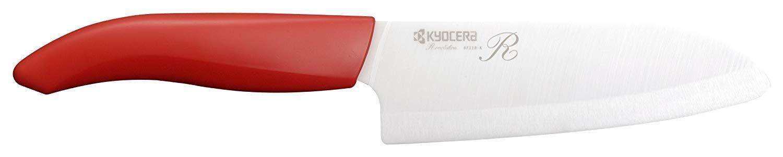 Kyocera Ceramic Knives Santoku Kitchen Knife 14cm FKR-140X-RD Ship from Japan
