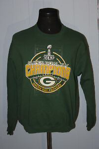 Nice NFL Store Green Bay Packers Super Bowl XLV Green Crewneck Sweatshirt  supplier