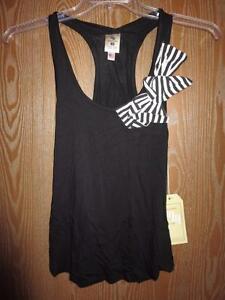 Nuevo-Louisville-Cardinals-Mujer-XS-Xs-Negro-Mono-Tanque-Camisa-por-Meesh-amp-Mia