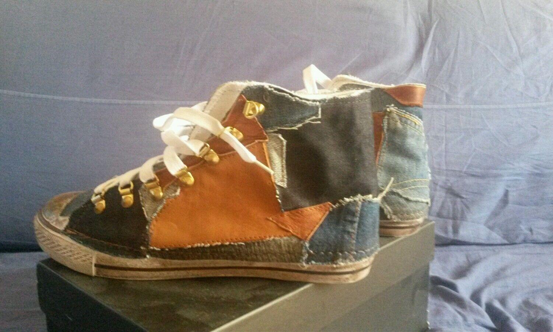 Scarpe casual da uomo  Scarpe da uomo jeans/pelle numero 44