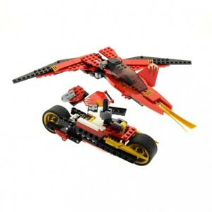 1x-Lego-Technic-Set-Modele-N-70721-NINJAGO-avion-chasseur-9441-incomplet
