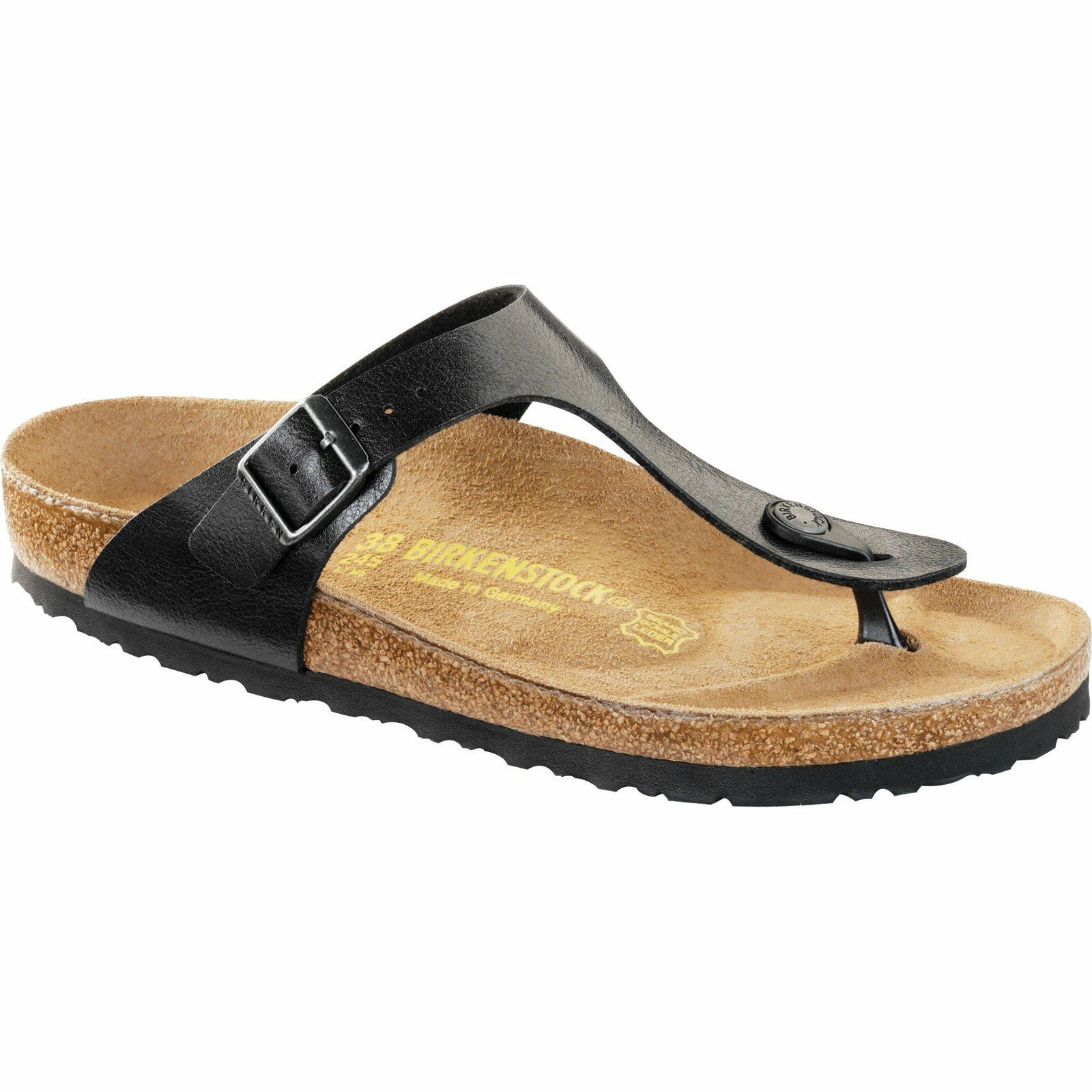 Birkenstock Gizeh graceful Licorice Birko-flor tamaño 35-43 plantilla normal