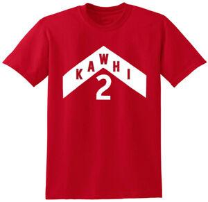 Red-Kawhi-Leonard-RAPTORS-034-WE-The-North-JERSEY-Logo-034-T-shirt