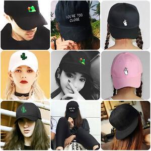 Adjustable-Unisex-Men-039-s-Women-039-s-Snapback-Baseball-Cap-Hip-Hop-Hat-Bboy-Fashion