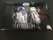 Star Wars R2-d2 R5-d4 1/12 Scale Plastic Model Kit by Bandai