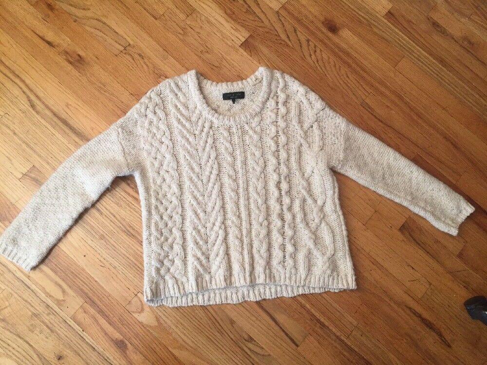 Rag & Bone Oversized Luxe Ladies Ladies Ladies Sweater Size M L 52fd17