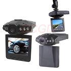 Vehicle Car DVR Recorder Camera Road Safety Guard 6 LED 270°2.5