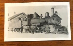 1909 Canadian Pacific Railway Railroad RR #1292 Locomotive Photo Photograph