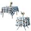 miniature 18 - Imperméable Nappe Home Table de salle à manger Protecteur Rond/Rectangulaire Table Housse