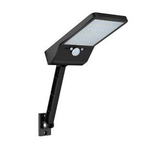 48-LED-Control-Remoto-Luz-de-Pared-Solar-Sensor-de-Movimiento-PIR-LaMpara-I-N9V8