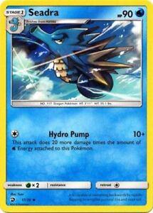 x4-Seadra-17-70-Uncommon-Pokemon-Dragon-Majesty-M-NM-English