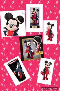 Disney-2019-Minnie-Mouse-Signature-Collection-Limited-Edition-Doll-amp-Tumbler-Mug