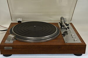 Denon-SL-7D-Vintage-Direct-Drive-Turntable-Record-Player-Recently-Serviced