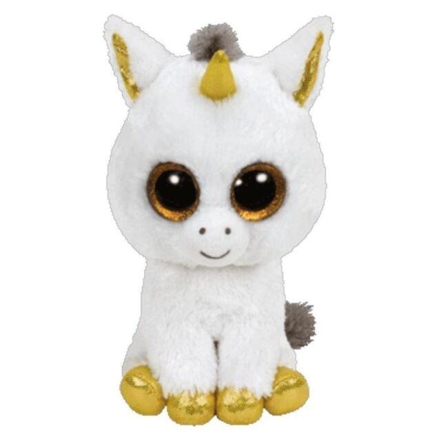 NEW Beanie Boos - Pegasus The White Unicorn from Mr Toys
