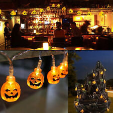 Hot 20 Pumpkins LED String Light Pumpkin Lights for Halloween Decoration Party