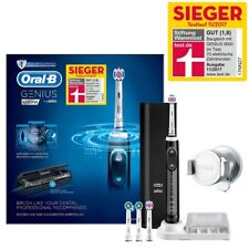 ORAL-B Genius 9200W Elektrische Zahnbürste 4 Aufsteckbürsten + Reise-Etui